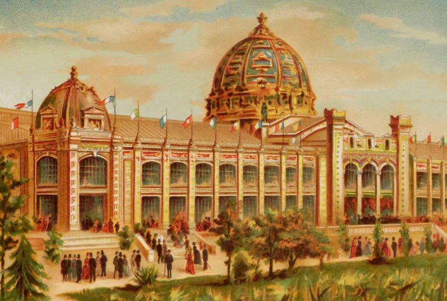 Vues de l'Exposition Universelle - Palais des Beaux Arts (1889)