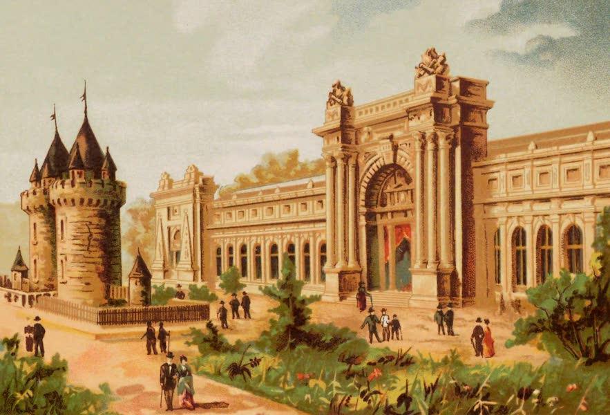 Vues de l'Exposition Universelle - Palais du Ministere de la Guerre (1889)