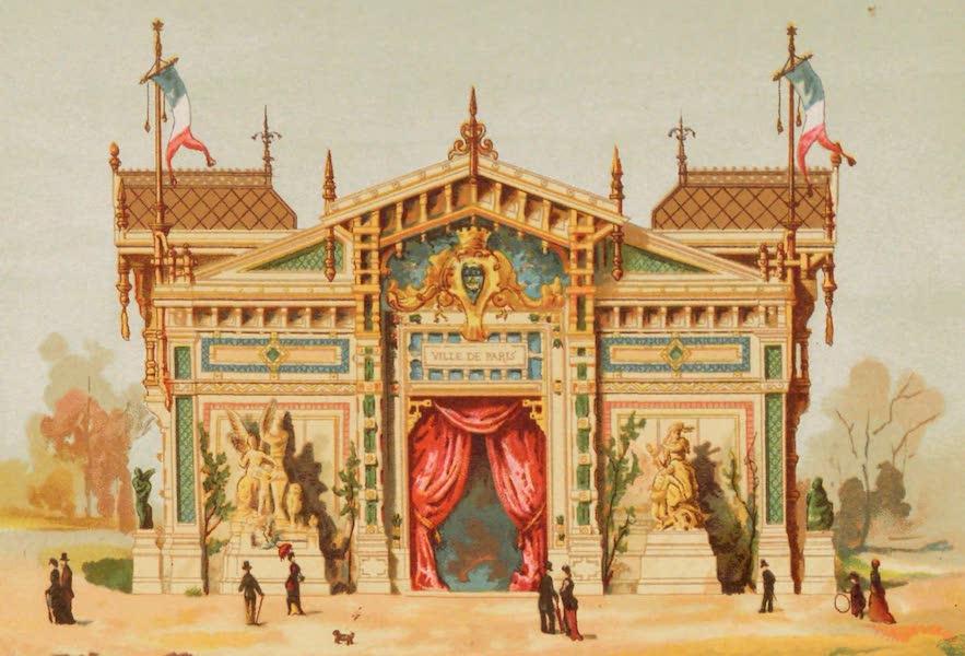 Vues de l'Exposition Universelle - Pavillon de la Ville de Paris (1889)