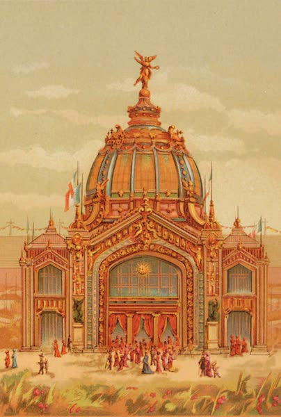 Vues de l'Exposition Universelle - Dome Central (1889)