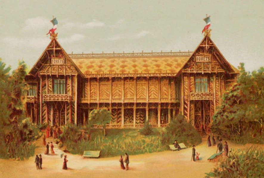 Vues de l'Exposition Universelle - Pavillon des Eaux et Forets (1889)