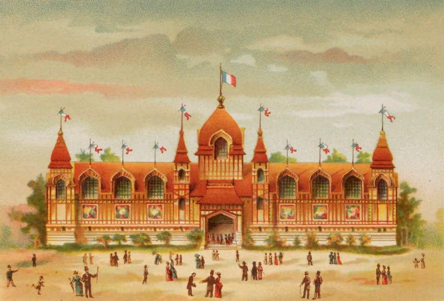 Vues de l'Exposition Universelle - Colonies Francaises Palais Central (1889)