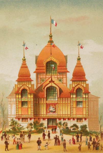 Vues de l'Exposition Universelle - Pavillon des Colonies Francises (1889)