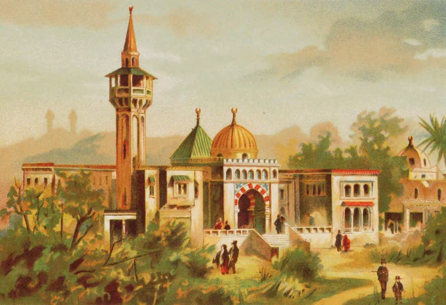 Vues de l'Exposition Universelle - Tunisie (1889)