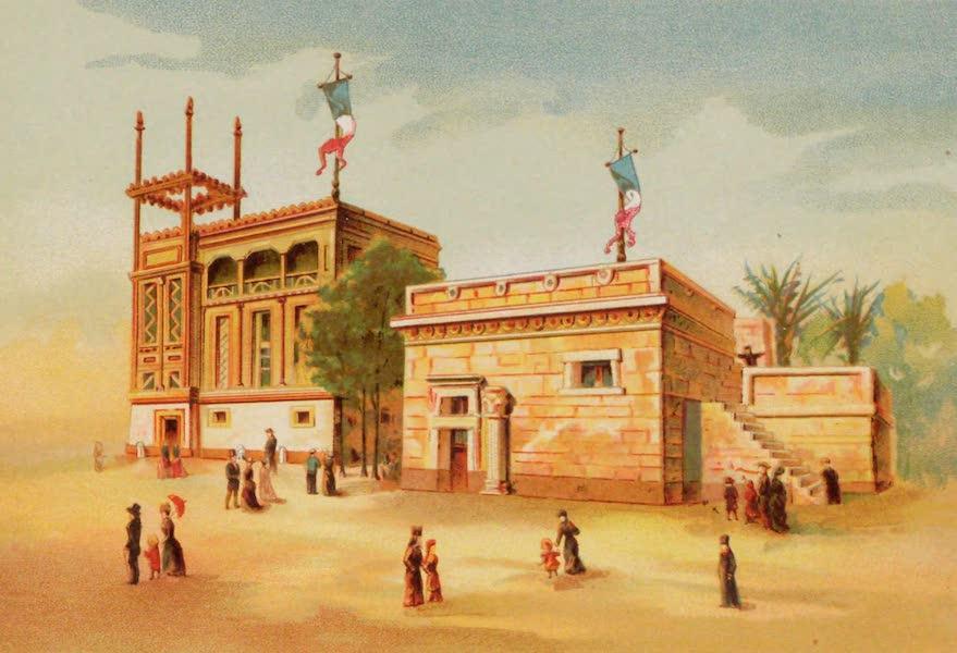 Vues de l'Exposition Universelle - Maison Phenicienne, Maison des Hebreux (1889)