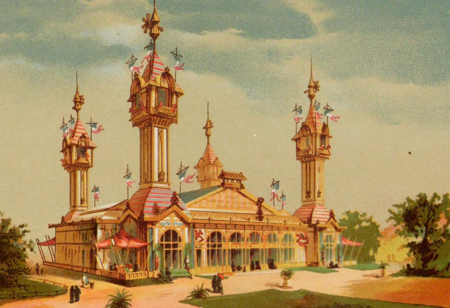 Vues de l'Exposition Universelle - Pavillon des Enfants (1889)