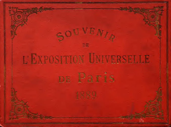 Great Britain - Vues de l'Exposition Universelle