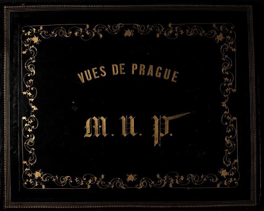 Vues de Prague - Front Cover (1800)