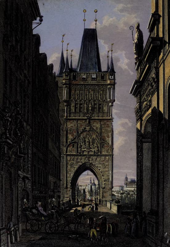 Vues de Prague - View of Prague: III (1800)
