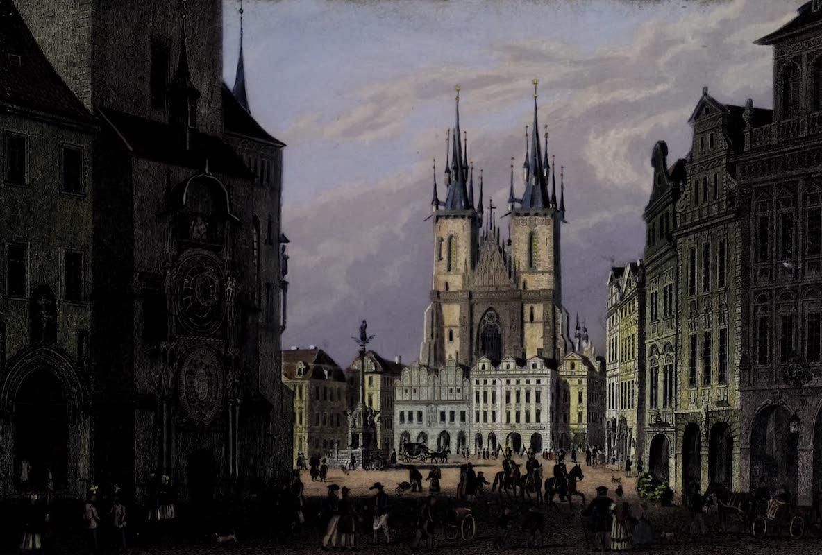 Vues de Prague - View of Prague: XV (1800)