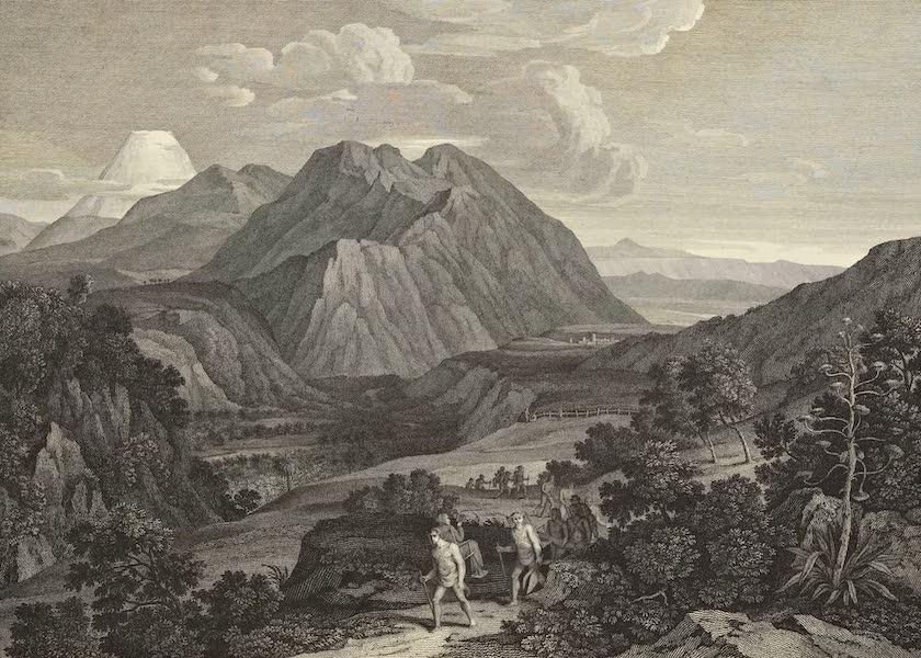 Vues des Cordilleres et Monumens de l'Amerique - Passage de la montagne de Quindiu, dans la Cordillere des Andes (1813)