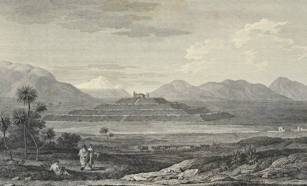 Vues des Cordilleres et Monumens de l'Amerique - Pyramide de Cholula (1813)