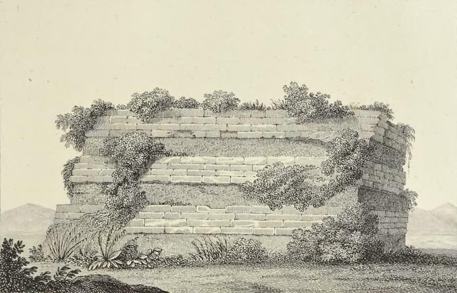 Vues des Cordilleres et Monumens de l'Amerique - Masse detachee de la pyramide de Cholula (1813)