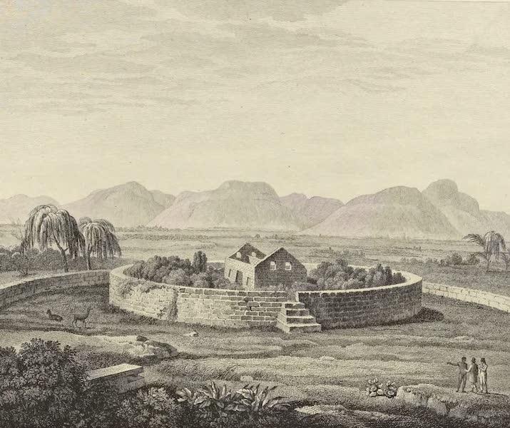 Vues des Cordilleres et Monumens de l'Amerique - Monument peruvien du Canar (1813)