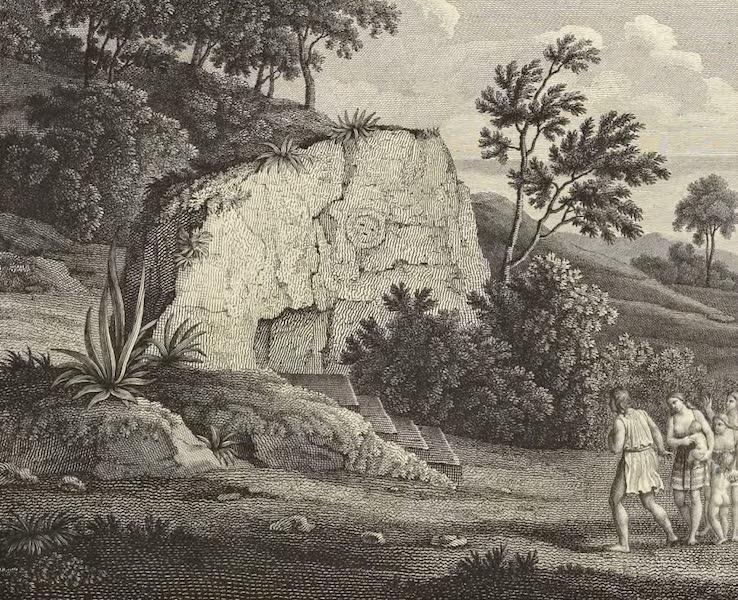 Vues des Cordilleres et Monumens de l'Amerique - Rocher d'Inti-Guaicu (1813)