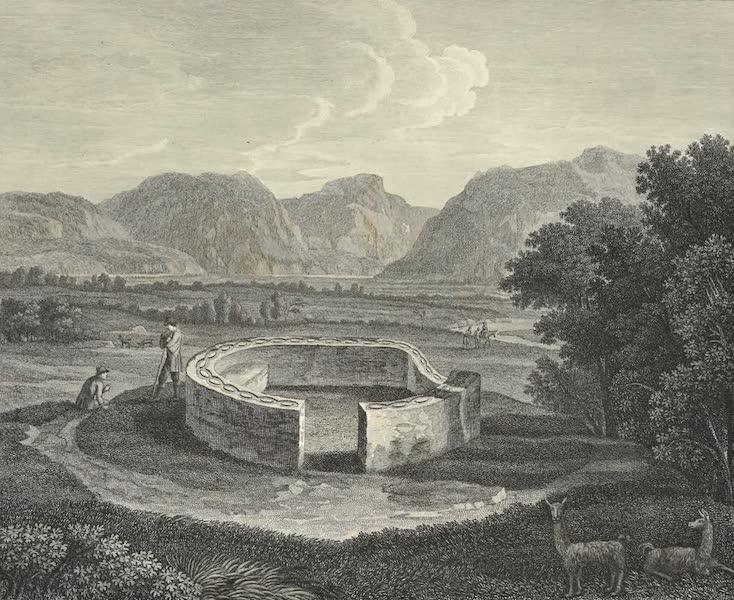 Vues des Cordilleres et Monumens de l'Amerique - Ynga-Chungana, pres du Canar (1813)
