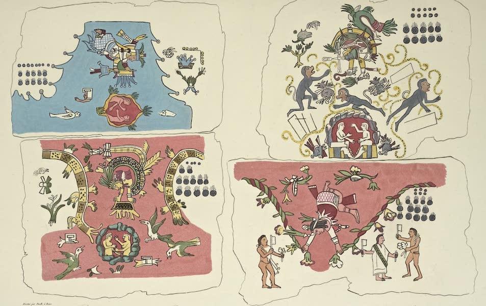 Vues des Cordilleres et Monumens de l'Amerique - Epoques de la nature, d'apres la mythologie azteque (1813)