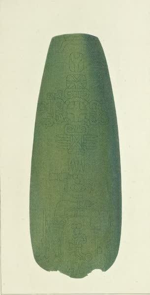 Vues des Cordilleres et Monumens de l'Amerique - Hache azteque (1813)