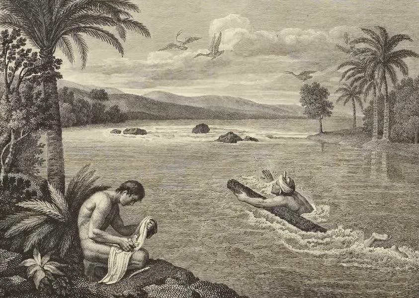 Vues des Cordilleres et Monumens de l'Amerique - Poste aux lettres de la province de Jaen de Bracamoros (1813)