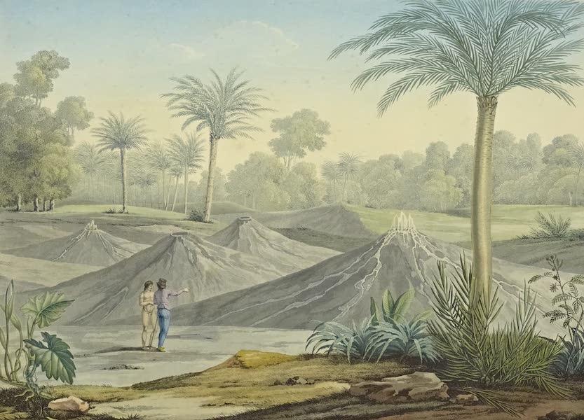 Vues des Cordilleres et Monumens de l'Amerique - Volcan d'air de Turbaco (1813)