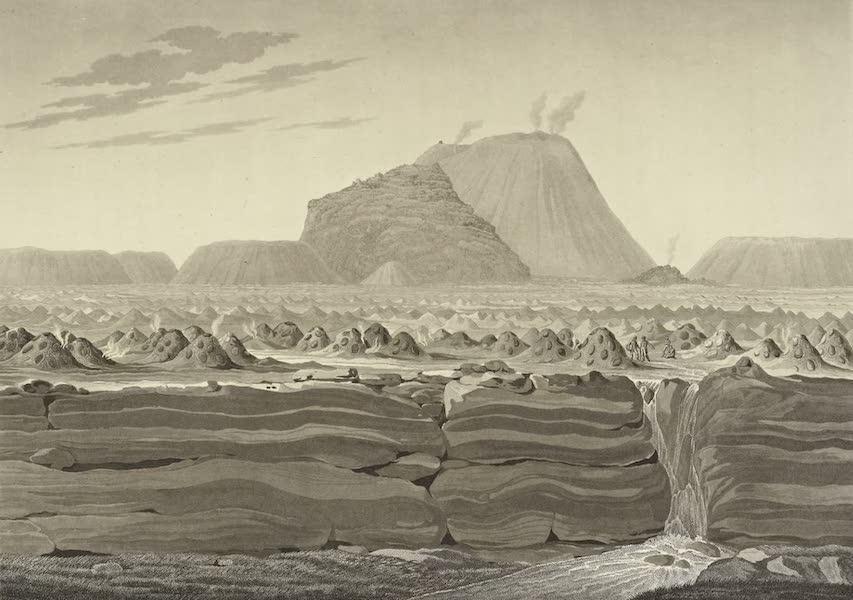 Vues des Cordilleres et Monumens de l'Amerique - Volcan de Jorullo (1813)