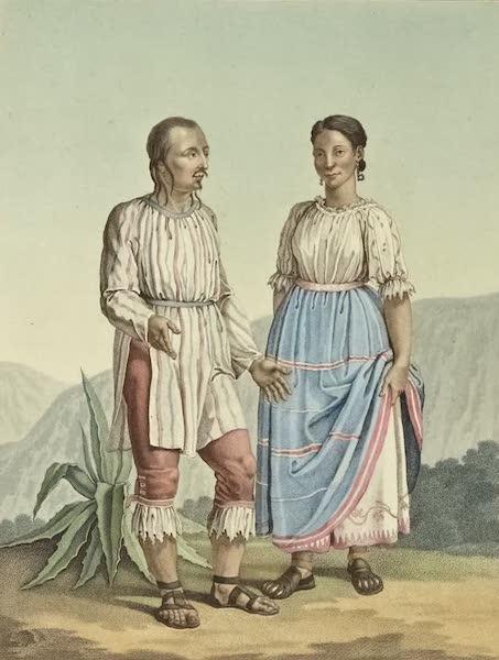 Vues des Cordilleres et Monumens de l'Amerique - Costumes des Indiens de Mechoacan [I] (1813)