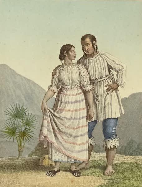 Vues des Cordilleres et Monumens de l'Amerique - Costumes des Indiens de Mechoacan [II] (1813)