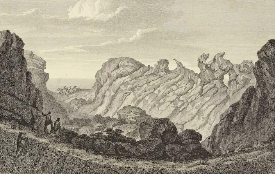 Vues des Cordilleres et Monumens de l'Amerique - Vue de l'interieur du cratere du Pic de Teneriffe (1813)