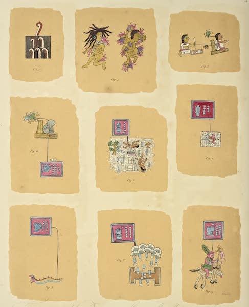 Vues des Cordilleres et Monumens de l'Amerique - Fragmens de peintures hieroglyphiques tires du Codes Telleriano-Remensis [I] (1813)
