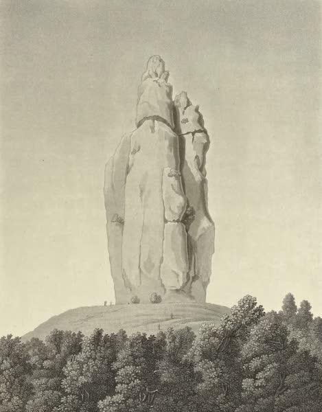 Vues des Cordilleres et Monumens de l'Amerique - Sommet de la montagne des Organos d'Actopan (1813)