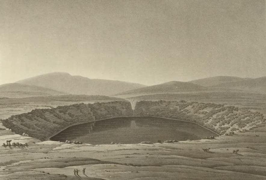 Vues des Cordilleres et Monumens de l'Amerique - Vue du lac de Guatavita (1813)