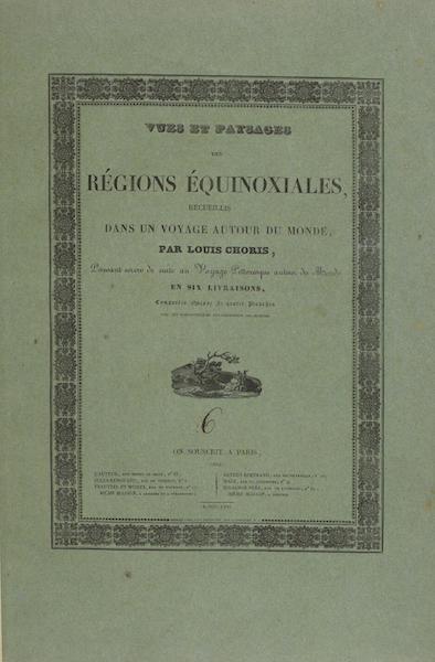 Vues et Paysages des Regions Equinoxiales - Colored Wrapper (1826)