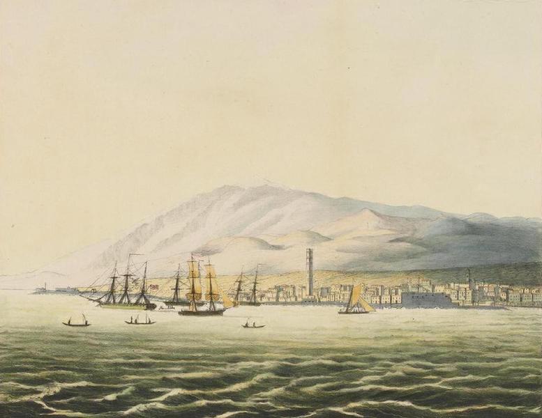 Vues et Paysages des Regions Equinoxiales - Vue de la St. Cruz, sur l'Ile de Teneriffe (1826)