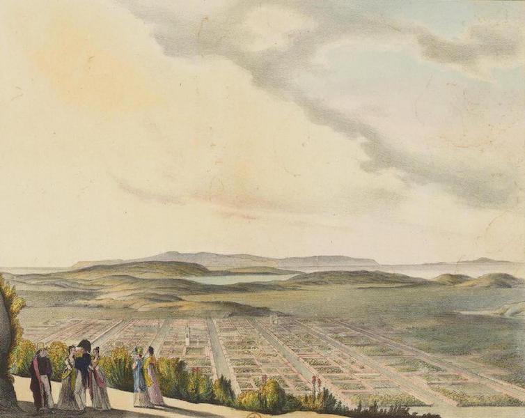 Vues et Paysages des Regions Equinoxiales - Vue de la ville de la Conception (Chili) (1826)