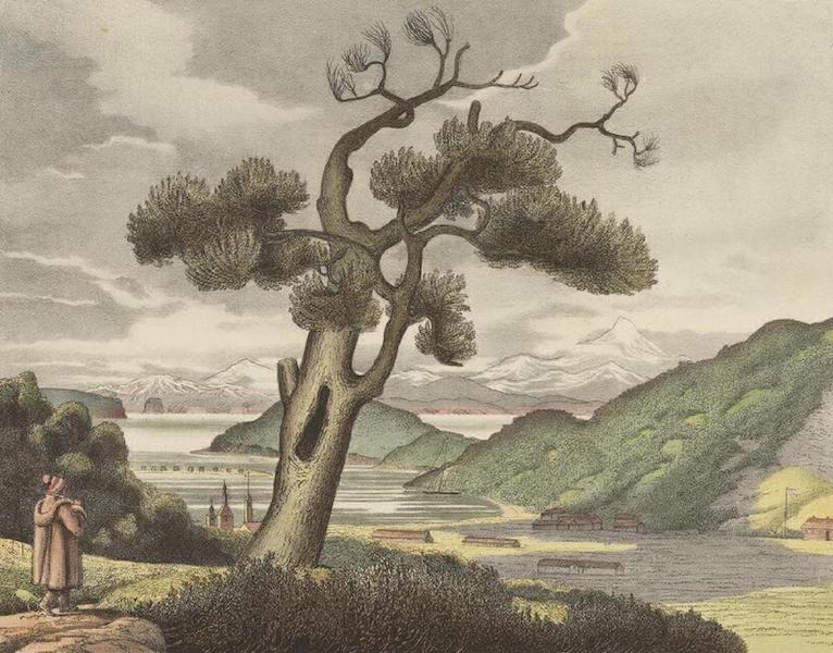 Vues et Paysages des Regions Equinoxiales - Vue de le baie d'Avatcha au Kamtchatka (1826)