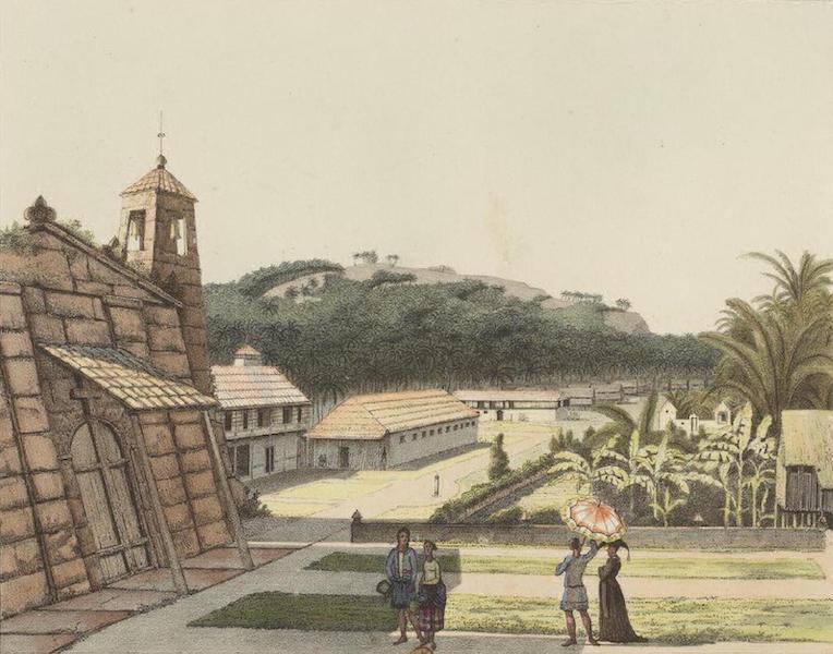 Vues et Paysages des Regions Equinoxiales - Vue de la Ville d'Agana (Iles Mariannes) (1826)