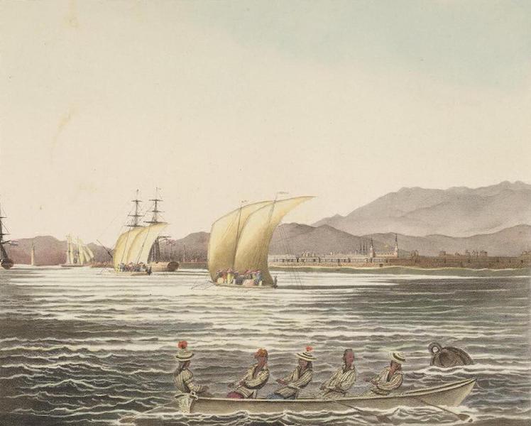 Vues et Paysages des Regions Equinoxiales - Vue de la Ville Manille (Iles Philippines) (1826)