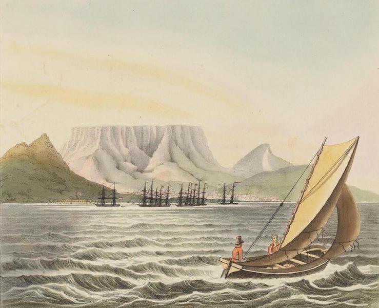 Vues et Paysages des Regions Equinoxiales - Vue de la Ville du Cap de Bonne Esperance (1826)