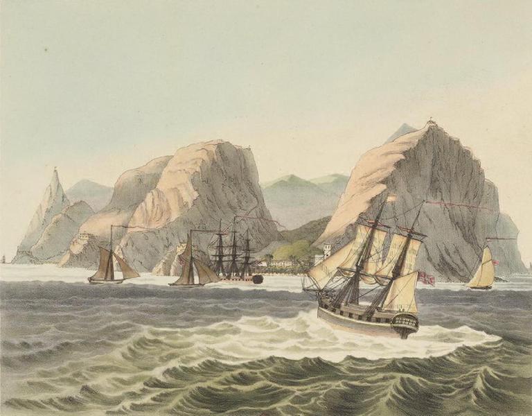 Vues et Paysages des Regions Equinoxiales - le de St. Helene (1826)