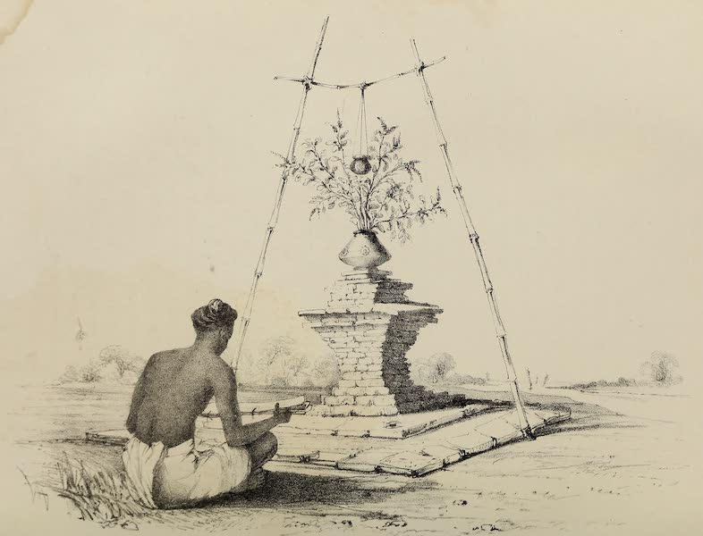 Wanderings of a Pilgrim, in Search of the Picturesque Vol. 1 - Puja of the Tulsi (1850)