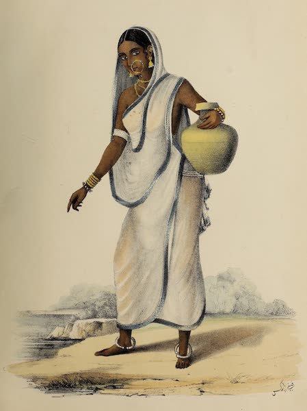 Wanderings of a Pilgrim, in Search of the Picturesque Vol. 1 - A Bengali Woman (1850)