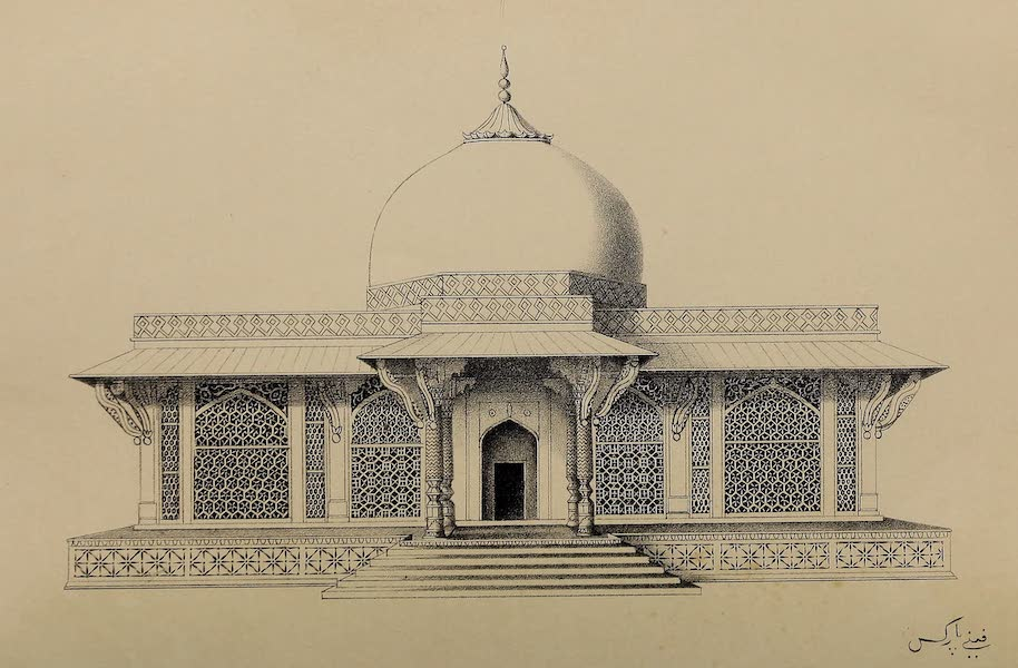 Wanderings of a Pilgrim, in Search of the Picturesque Vol. 1 - The Tomb of Shaikh Selim Cheestie (1850)