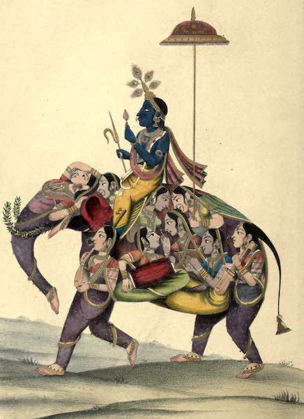 Wanderings of a Pilgrim, in Search of the Picturesque Vol. 2 - Kaniyajee and the Gopees (1850)