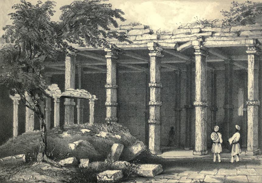 Wanderings of a Pilgrim, in Search of the Picturesque Vol. 2 - Ancient Hindu Ruins at Kanauj (1850)