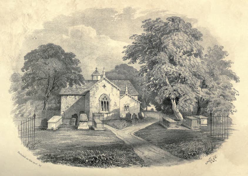 Wanderings of a Pilgrim, in Search of the Picturesque Vol. 2 - Pennycross Chapel (1850)
