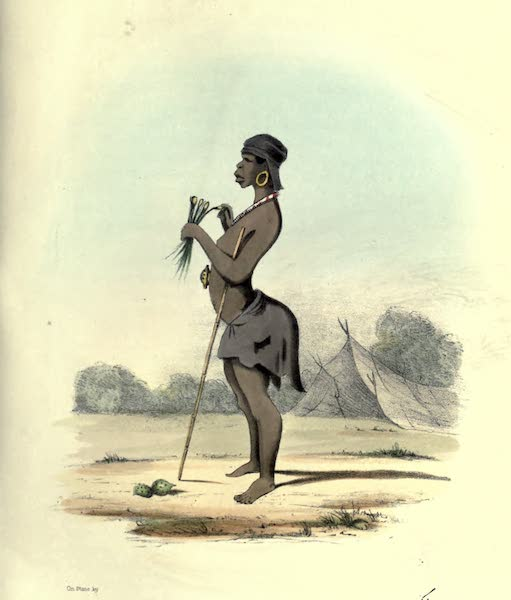 Wanderings of a Pilgrim, in Search of the Picturesque Vol. 2 - A Bushwoman (1850)