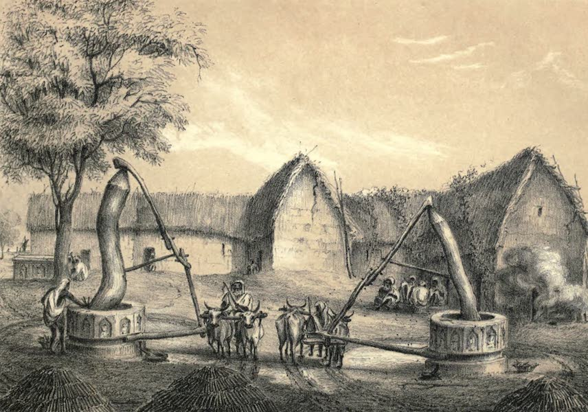 Wanderings of a Pilgrim, in Search of the Picturesque Vol. 2 - The Sugar Mills at Belaspore (1850)