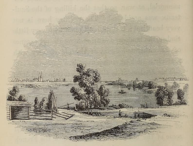 Wanderings of an Artist among the Indians of North America - View at Red River Settlement (1859)