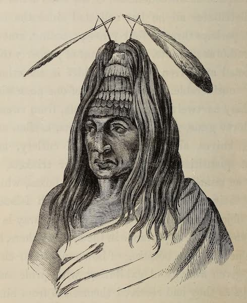 Wanderings of an Artist among the Indians of North America - Portrait of Cul-chil-lum with Medicine Cap (1859)