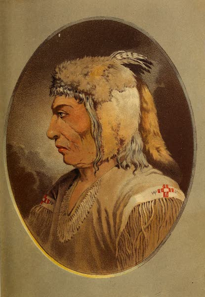Wanderings of an Artist among the Indians of North America - Portrait of Man-ce-muckt (1859)
